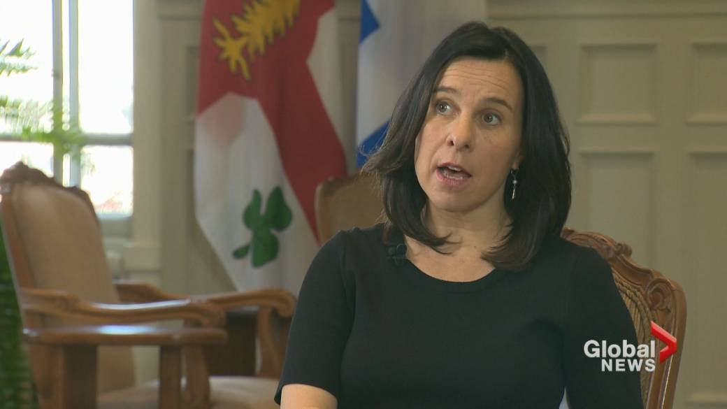 Click to play video 'Montreal Mayor Valérie Plante on lead in the city's water'