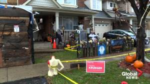 Halloween display in Milton accused of depicting 'violence against women' will stay, town says