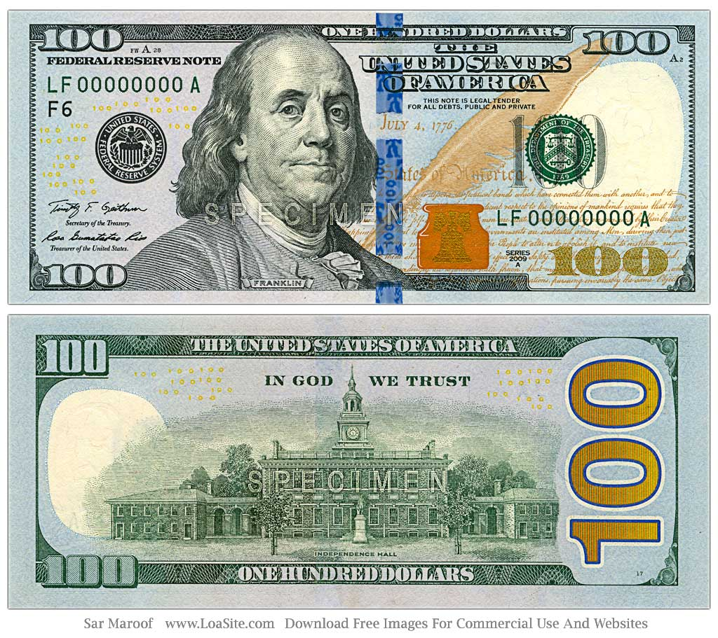 Bad News Hidden Messages In New 100 Dollar Bill