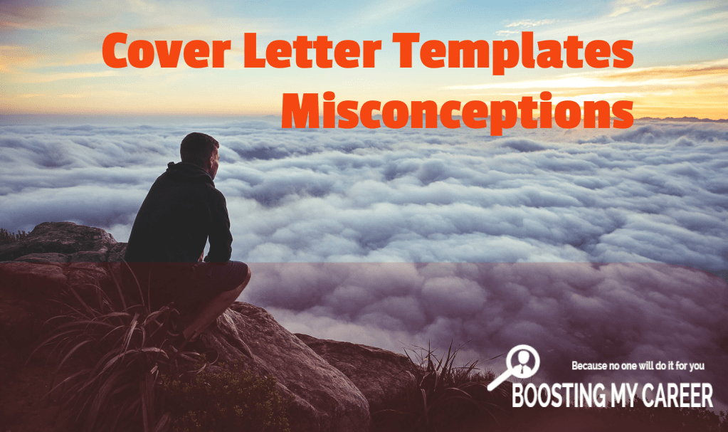 Cover letter templates misconceptions