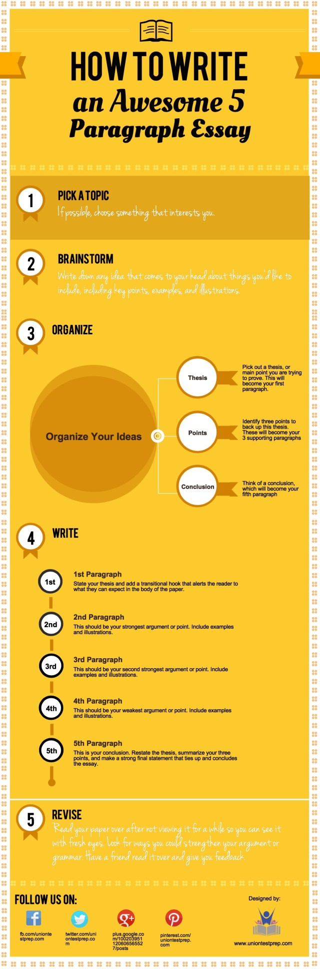 How to Write an Essay in 30 Easy Steps