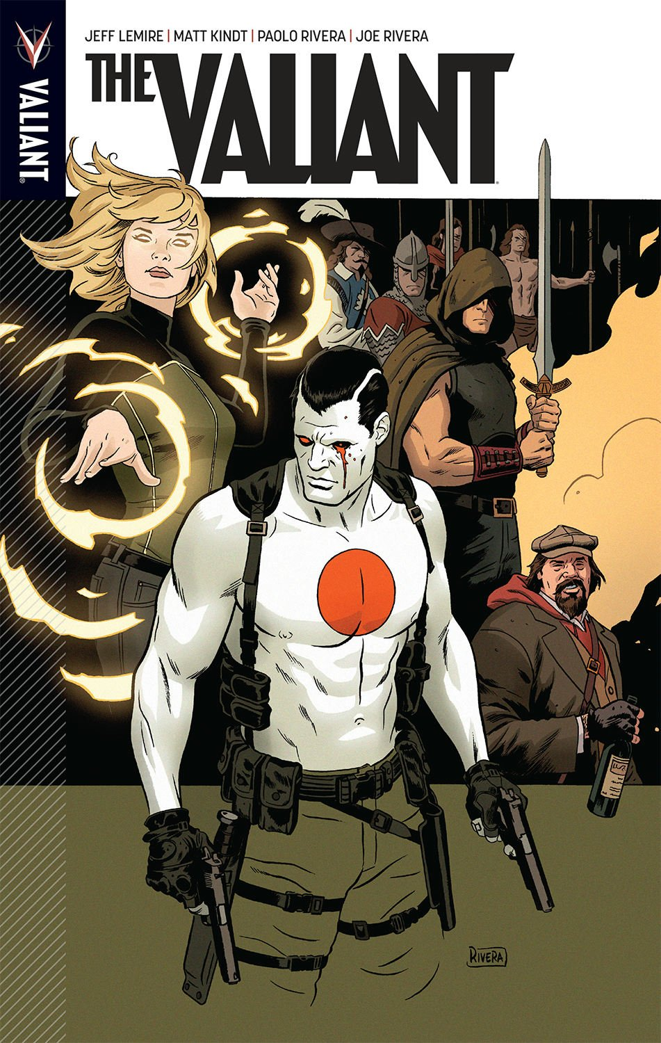 The Valiant Vol. 1 TPB, cover by Paolo Rivera