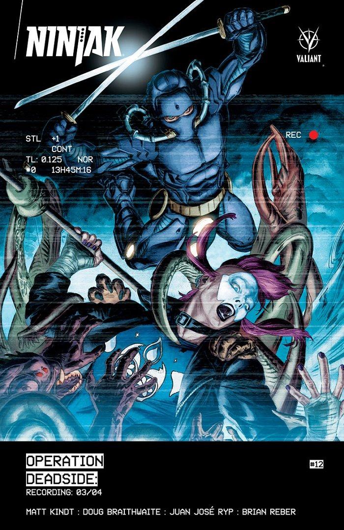 Ninjak cover by Doug Braithwaite