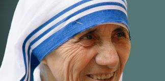 Mother Teresa's Saree is now trademarked