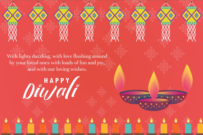 Happy Diwali Greetings Girls Glamour