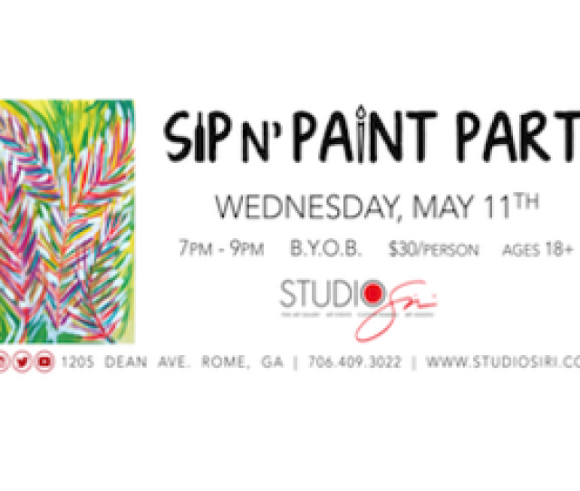 Sip N Paint Party
