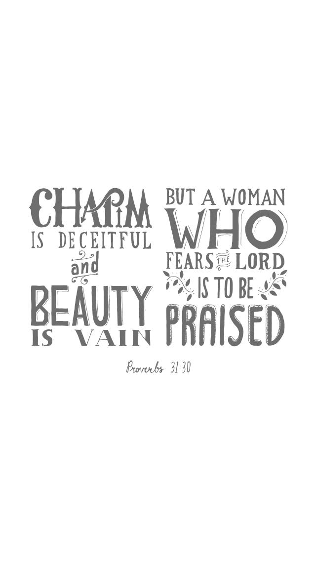 Proverbs 3130 The Verses Project