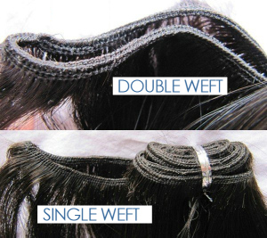 single vs doubleweft