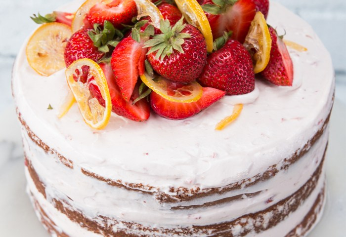 Strawberry Lemonade Cake Recipe By Tasty