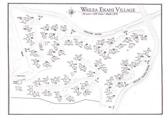 Map Ekahi Village Condos