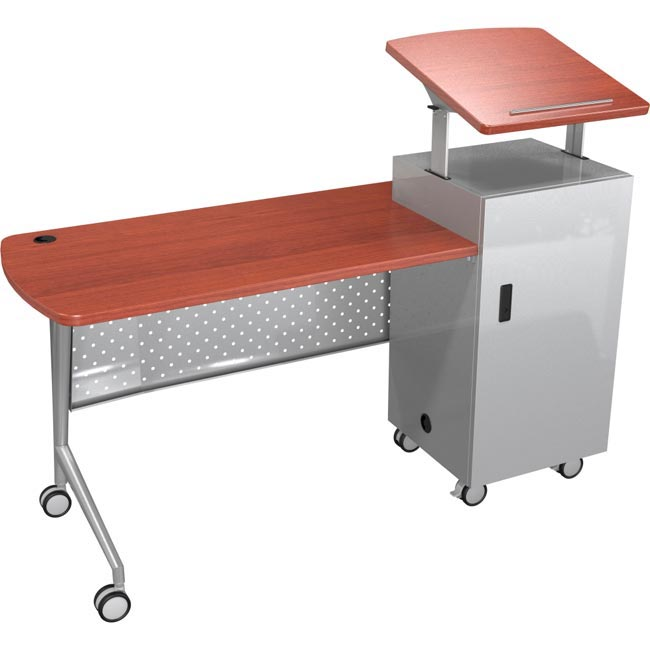All Trend Podium Desk By Balt Options Desks