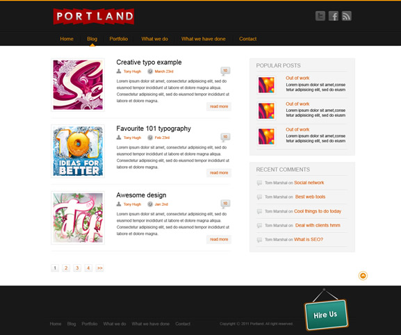 Web and designers | Complete resource platform for web ...