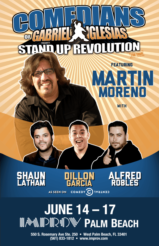 Stand Posters Show Comedy