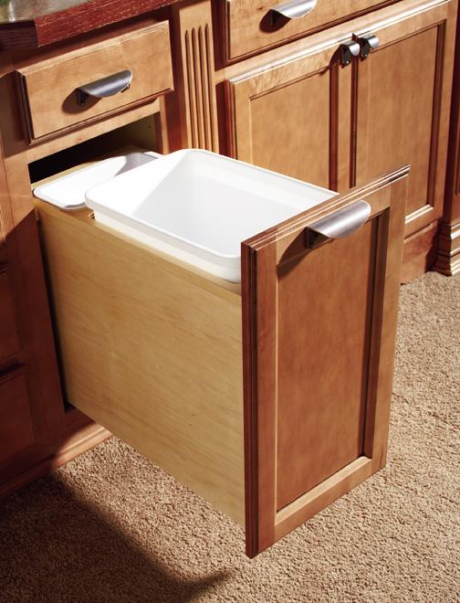 Base Wastebasket Cabinet Cabinets Matttroy