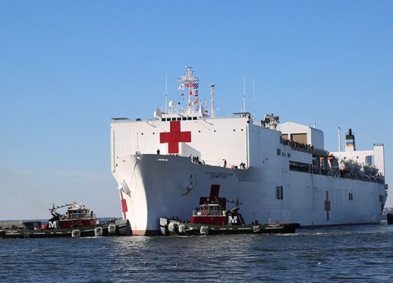 Hospital Ship USNS Comfort Deploying – Volunteer Now!