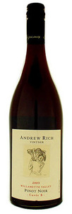 Andrew Rich Cuvée B Pinot Noir 2008, Willamette Valley Bottle