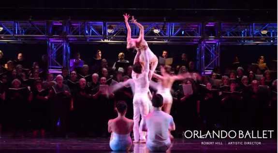 Orlando Ballet & Bach Festival Society perform Carmina Burana. Photo: Orlando Ballet