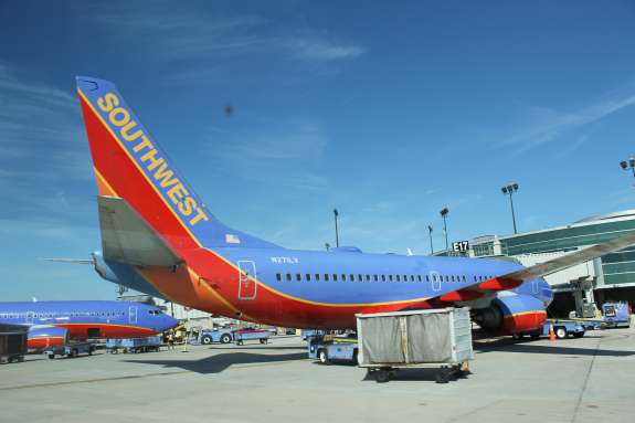 Representatives from SouthWest and other North American airlines are gathering in Daytona Beach this week to discuss a pilot shortage. Photo: Matthew Peddie, WMFE