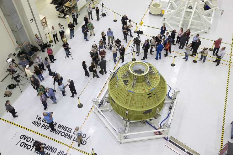 Lockheed Martin Wins NASA Contract For Orion Spacecraft Crucial For Moon Mission