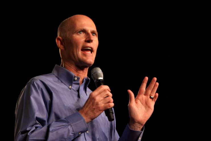File photo: Florida Gov. Rick Scott