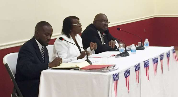 Three candidates are vying for suspended Mayor Anthony Grant's seat. Photo: Renata Sago.