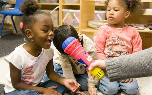 Central Florida is now home to one of few auditory-oral schools for toddlers in Florida. Photo: Clarke Schools for Hearing and Speech.