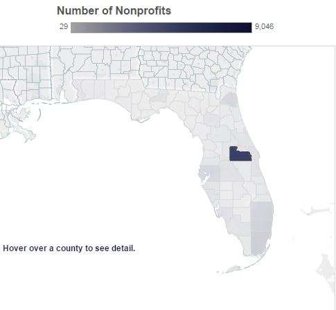 The study finds that Florida now has 83,000 nonprofit organizations. Photo: Florida Nonprofit Alliance.