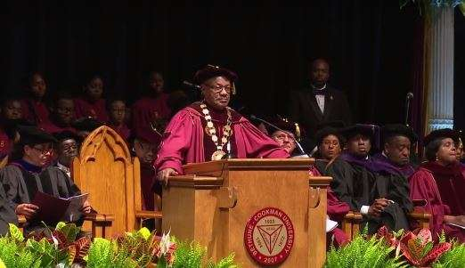 Photo: Bethune-Cookman University (screenshot from commencement ceremony).