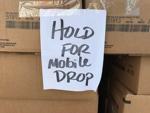 Church of God in Bithlo has been operating food drops since 2015. This year alone, they've provided 93,892 meals. Photo: Danielle Prieur