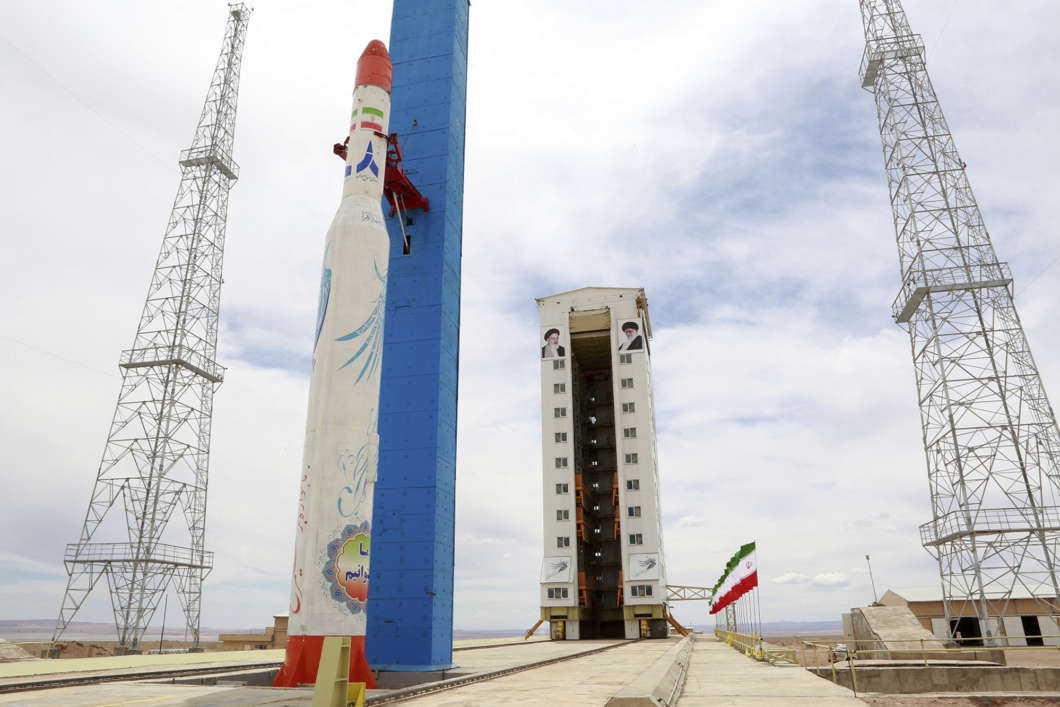 Iran Is Preparing A Launch  But Is It For A Space Rocket Or A