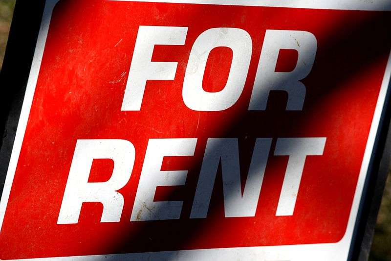 File image of For Rent sign courtesy of Wikimedia Commons