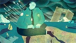 TSA in Turmoil investigative story series illustration