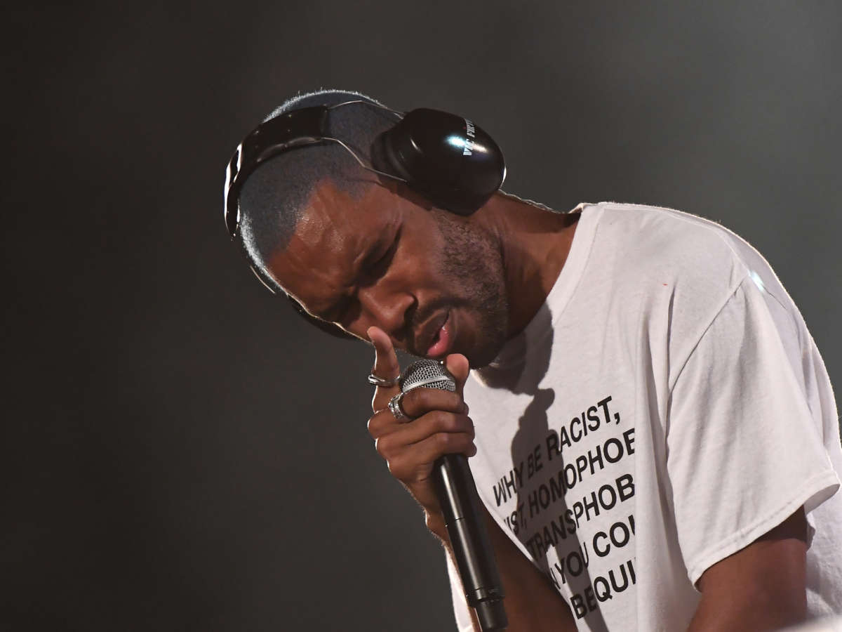 Listen to and cry about two new tracks from Frank Ocean