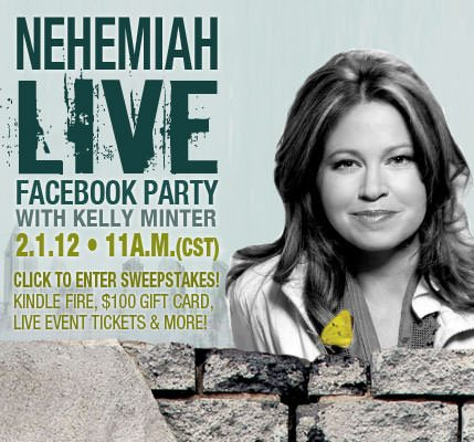 Save the Date! Nehemiah Facebook Launch Party!