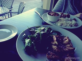 food fast - chicken & spinach