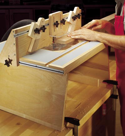 ... Plans / Workshop & Jigs / Tool Bases & Stands / Benchtop Router Table