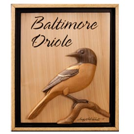 Baltimore Oriole Woodworking Plan, Gifts & Decorations Scrollsaw ...