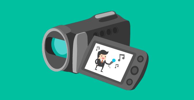 música para vídeos