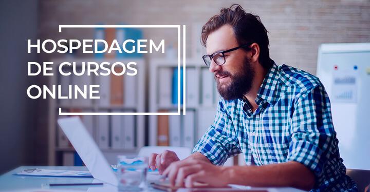 hospedagem de cursos online