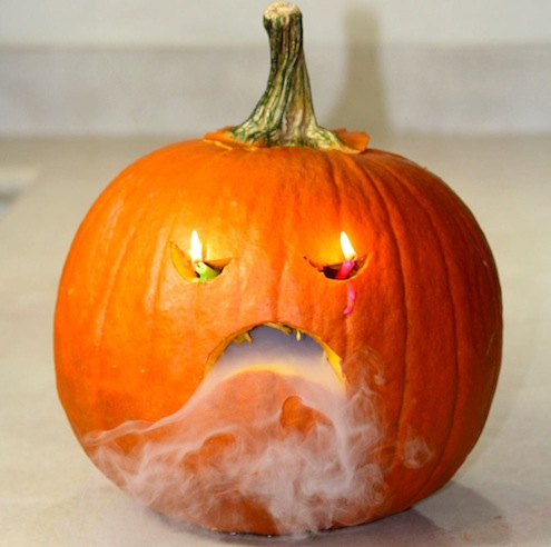 Pumpkin Dry Ice