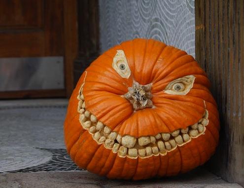 Pumpkin On Side