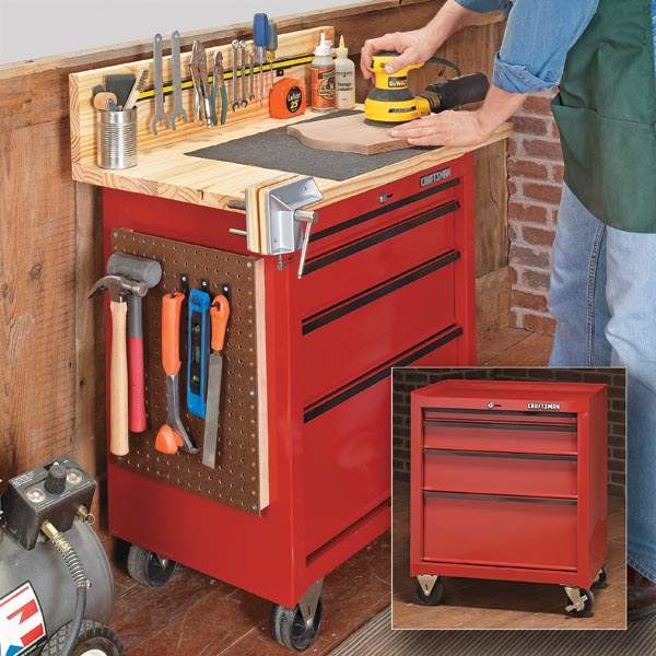 Diy Workbenches Tool Cabinet