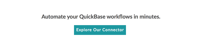 quickbase button
