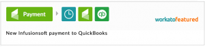 New Infusionsoft payment to QuickBooks