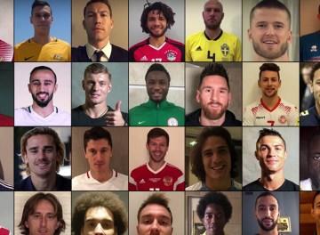 VIDEO: ¡Los jugadores se dan la bienvenida almundial!