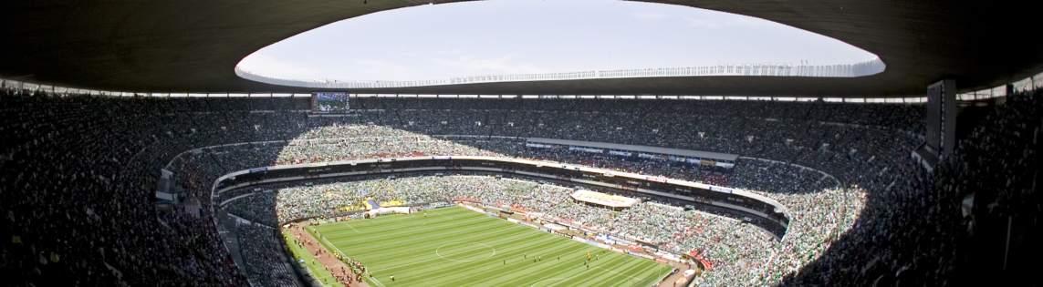 ¿Es el estadio Azteca un templo histórico en la historia delfútbol?