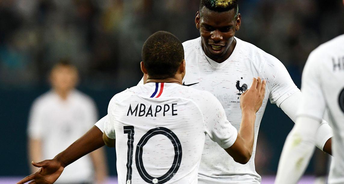 Francia derrotó a Rusia con doblete deMbappé