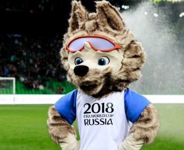 Las mascotas del Mundial