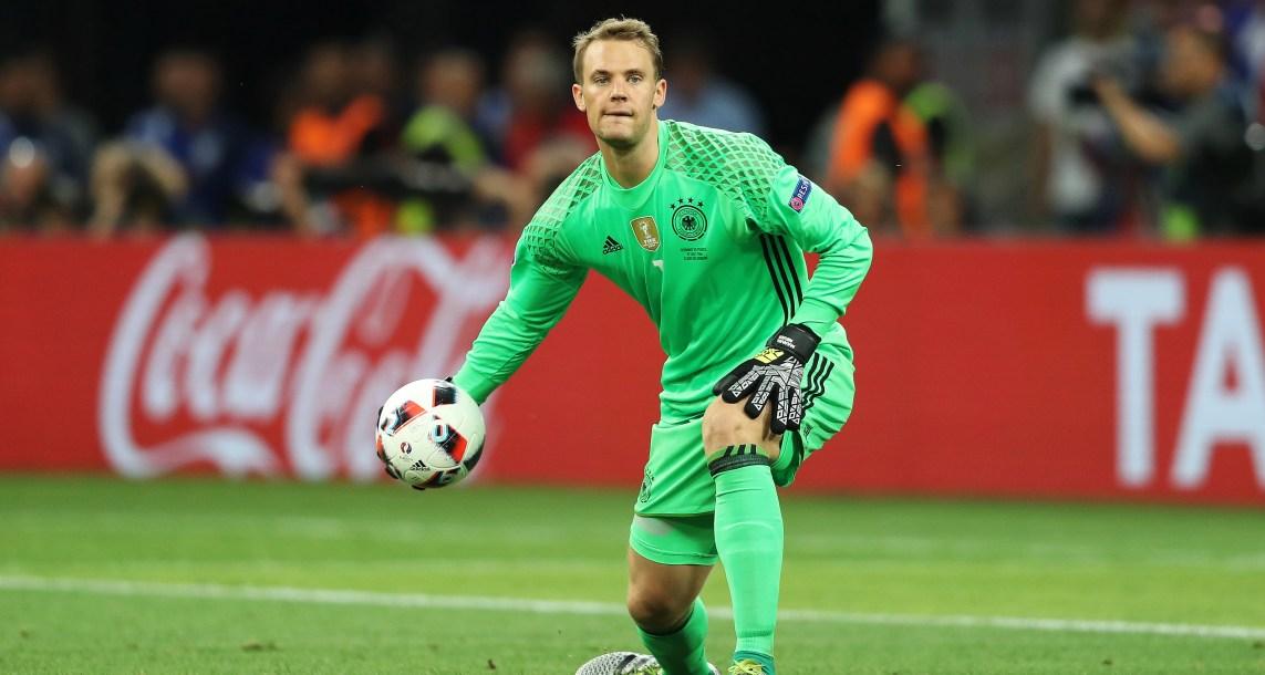 Manuel Neuer es duda para el debut anteMéxico