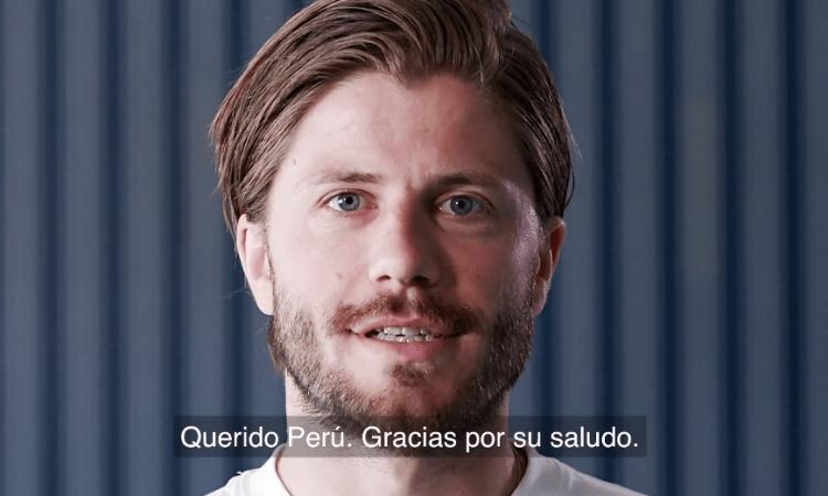 El emotivo saludo de Dinamarca paraPerú